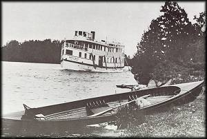 Skiff and Rideau Queen