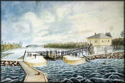 Narrows Lock - 1841